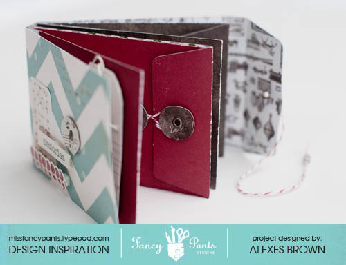 Alexes Marie Brown - Wishlist Mini- Fancy Pants Designs