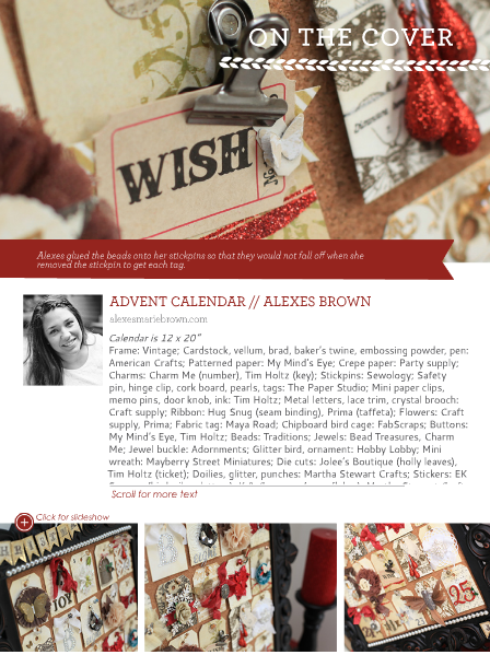 Alexes Marie Brown - Northridge Publishing - Advent Calendar