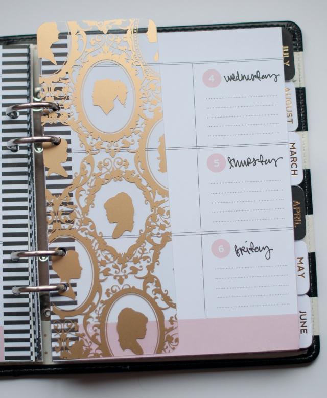Alexes Marie Brown - 2015 Planner - Heidi Swapp Memory Planner