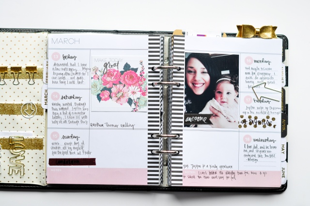 Alexes Brown - Heidi Swapp Planner