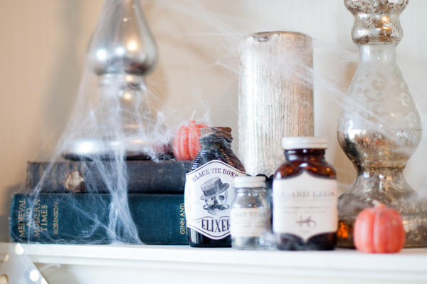 Alexes Marie Brown | My Minds Eye | Halloween Mantle